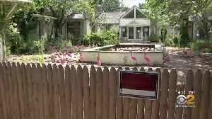 Courtyard Mess On Private Property Sparks Debate In Hamptons [Video]