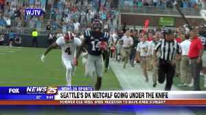 Former Ole Miss wide receiver DK Metcalf to have knee surgery [Video]