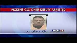 Criminal Charges Filed on Pickens County Chief Deputy 08/21/19 [Video]