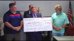 VIDEO West Easton gets financial boost from Northampton County for future police department [Video]