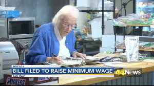Bill Filled To Raise Minimum Wage [Video]
