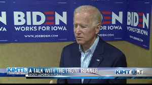 A talk with the front runner - Joe Biden [Video]