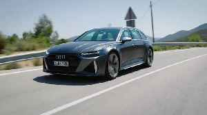 The new Audi RS 6 Avant Driving Video [Video]