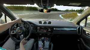 The Porsche Cayenne Turbo S E-Hybrid sets an unusual lap record [Video]