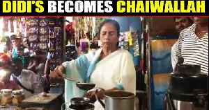 Mamata Banerjee serves tea at Bengal village: Watch [Video]