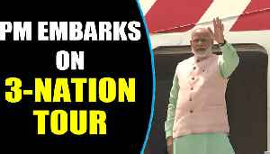 PM Modi embarks on 3-nation tour to France, UAE and Bahrain | Oneindia News [Video]