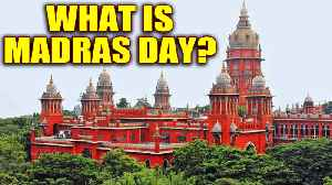 News video: Madras Day: The city turns 380 years old on August 22nd