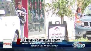 Move-in day: 2019 at University of Arizona is Thursday (and Friday) [Video]