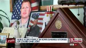Gold Star Family in Iowa Shares Stories of Loved One Lost [Video]