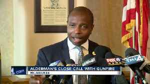 Ald. Johnson's son scared in own neighborhood after car shot [Video]