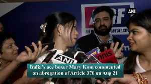 Revocation of Article 370 will help players in JK to get facilities from Centre Mary Kom [Video]