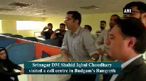 Srinagar DM interacts with call center employees in JKs Budgam [Video]