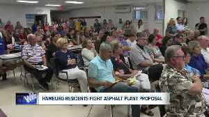 Hamburg residents fighting asphalt plant proposal [Video]