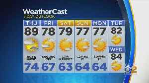 New York Weather: CBS2 8/21 Nightly Forecast at 11PM [Video]