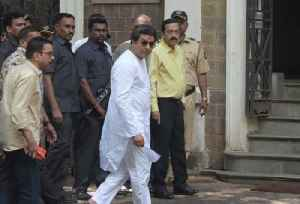 Raj Thackeray questioned by ED amid tight security in Mumbai [Video]