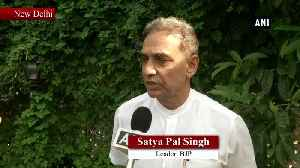 Had he surrendered earlier, his dignity would have remained intact says Satya Pal Singh [Video]
