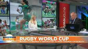 News video: World Rugby announces gender neutral naming for World Cup tournaments