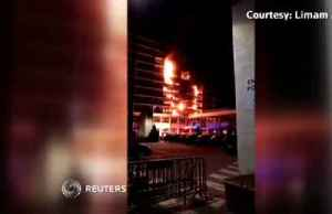 News video: At least one killed after fire breaks out in hospital near Paris