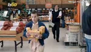 'Stranger Things' Fans Eat 'Eggos' and Recreate Scenes in the Grocery Store Where Netflix Series Was Filmed [Video]