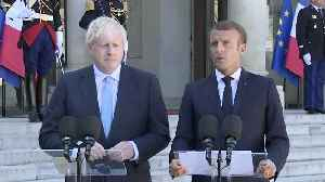 Macron Warns Johnson He Could Be 'The Hard Boy' Of EU In Fresh Brexit Talks [Video]