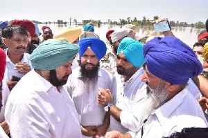 Floods batter parts of Punjab, CM Amarinder Singh takes stock of situation [Video]