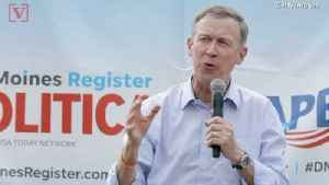 News video: Former Colorado Gov. Hickenlooper to Run for Senate After Dropping Out of 2020 Presidential Race