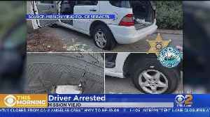 Man Arrested After Trying To Repair Flat Tires With Band-Aids [Video]