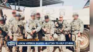 Local veteran shares his story to help others [Video]