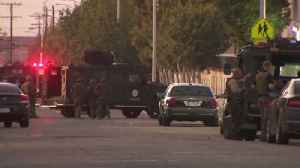 Gunman at Large After Deputy Shot at California Sheriff's Station [Video]