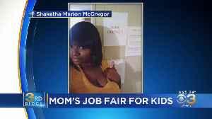 Mom Holds 'Job Fair' For Kids [Video]
