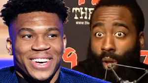 """James Harden SHADES Giannis Antetokounmpo, Claims He Only Won MVP Because Of """"Media Narrative"""" [Video]"""