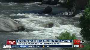 Kern County Sheriff's Office investigating body found in Kern River [Video]