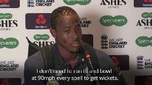 Jofra Archer happy to show he has more than just pace after Ashes 6-45 [Video]