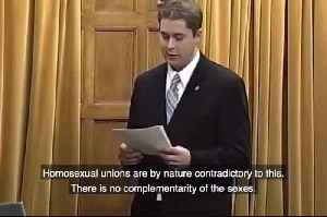 News video: 2005 Video Shows Scheer's Same Sex Marriage Opposition