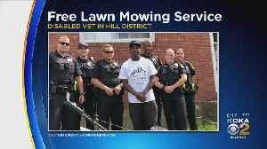 Man Mows Pittsburgh Veteran's Lawn [Video]