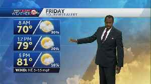 News video: Temps to stay below average for next few days