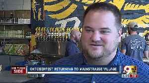 Oktoberfest returning to Covington's Mainstrasse Village [Video]