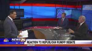 Reaction to Republican Runoff Debate [Video]