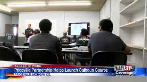 Priceville Partnership Helps Launch Calhoun Course [Video]