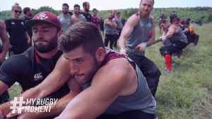 Georgia's rugby boot camp... literally [Video]