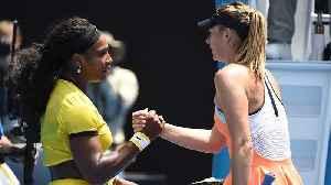 News video: Todd Martin: Maria Sharapova Should Catch Serena WIlliams' Attention