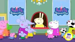 Shares in Peppa Pig owner rise past Hasbro offer [Video]