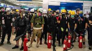 Hong Kong Transit Operator Vows To Crack Down On Violent Protests [Video]