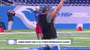 Lions to host Bills in third preseason game [Video]