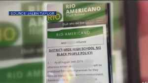 Racist Message Sparking Outrage At High School [Video]