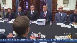 Gov. Abbott Vows Action At First Roundtable On Mass Shootings [Video]
