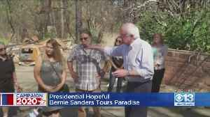 Presidential Hopeful Bernie Sanders Tours Paradise [Video]