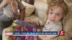 Video showing Franklin boy helping younger brother escape crib gets national attention [Video]