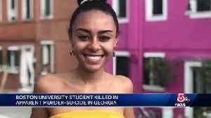 BU student killed in apparent murder-suicide in Georgia [Video]
