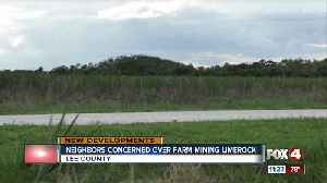 News video: Lee County Commissioners approve more lime rock mining in Fort Myers